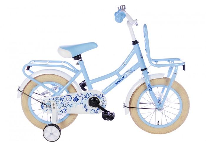 Spirit Omafiets Blauw 14 inch