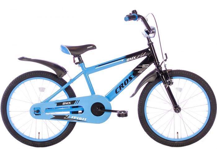 Spirit BMX Cross Blauw 22 Inch Jongensfiets
