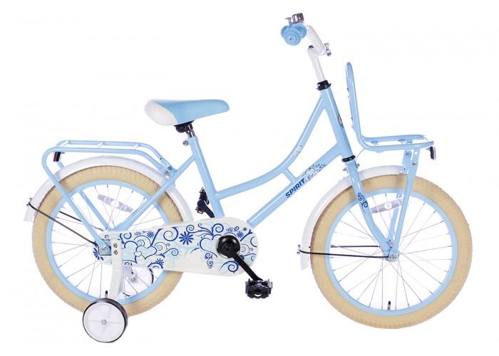 Spirit Omafiets Blauw 18 inch