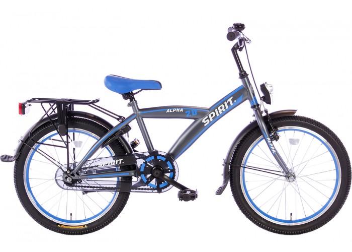 Spirit Alpha Blauw Jongensfiets 20 inch