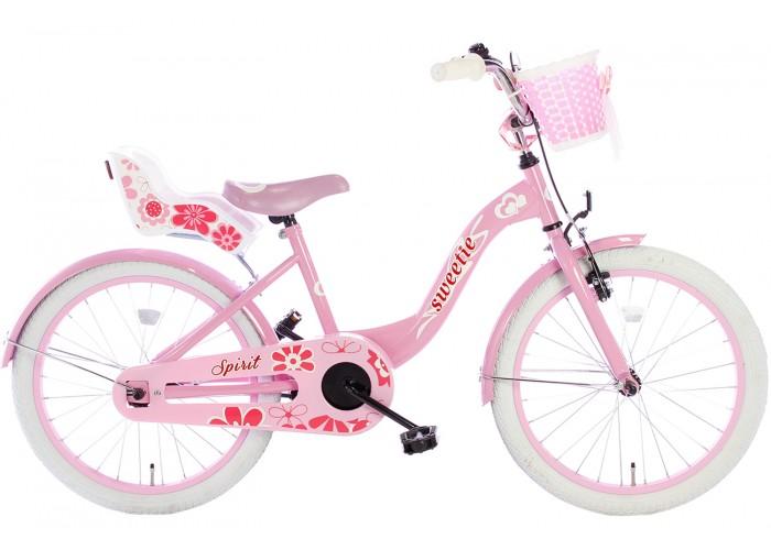 Spirit Sweetie Meisjesfiets Roze 20 inch