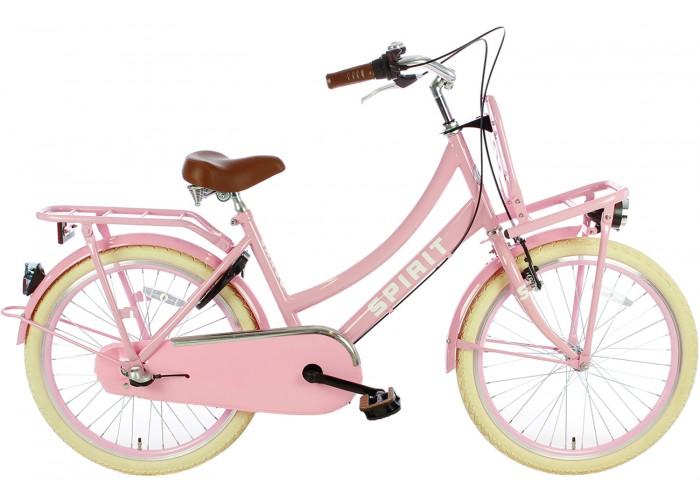 Spirit Cargo N3 Roze Meisjesfiets 22 inch