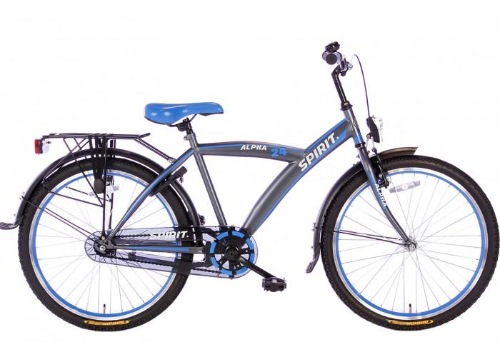 Spirit Alpha Blauw Jongensfiets 24 inch