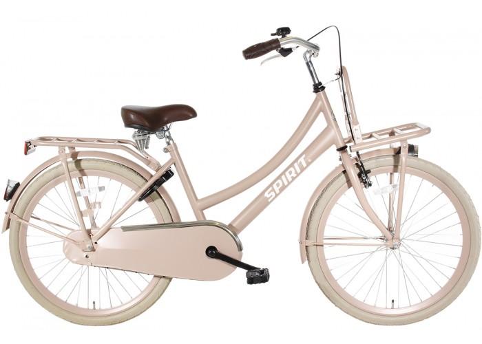 Spirit Cargo Zalm-Roze Meisjesfiets 22 inch