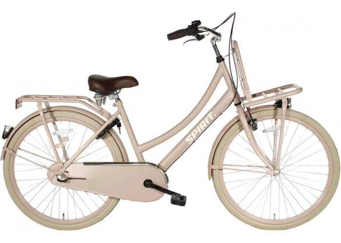 Spirit Cargo N3 Zalm-Roze Meisjesfiets 24 inch