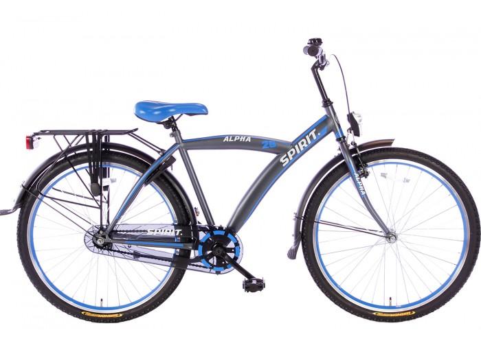 Spirit Alpha Blauw Jongensfiets 26 inch