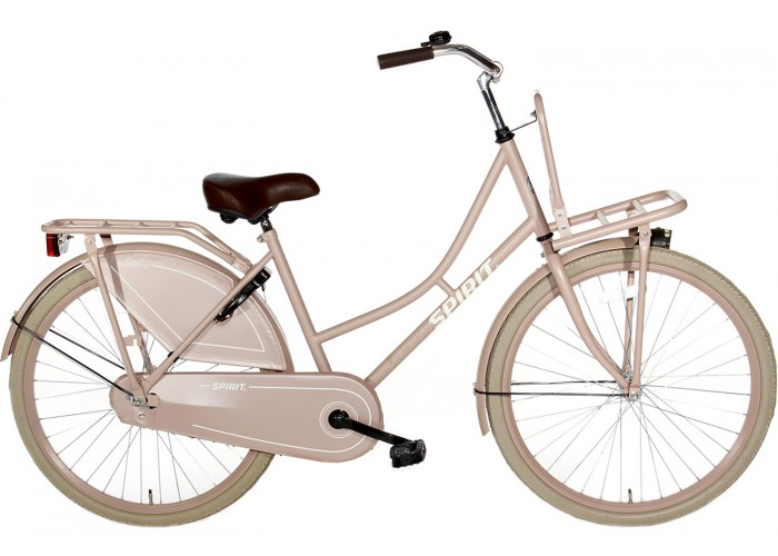 Spirit Omafiets Zalm-Roze 24 inch