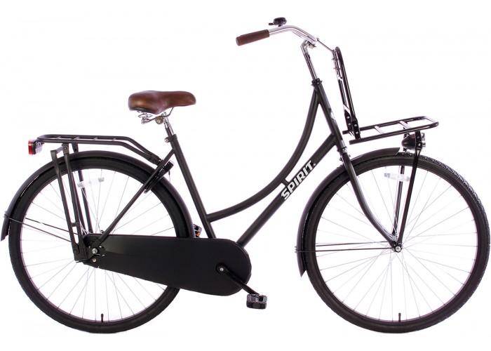 Spirit Omafiets Plus Mat-Zwart 28 inch