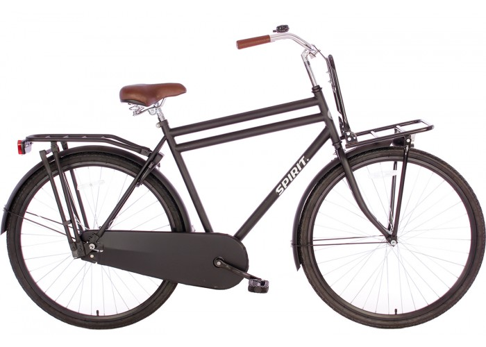 Spirit Retro Plus Herenfiets Mat-Zwart 28 inch