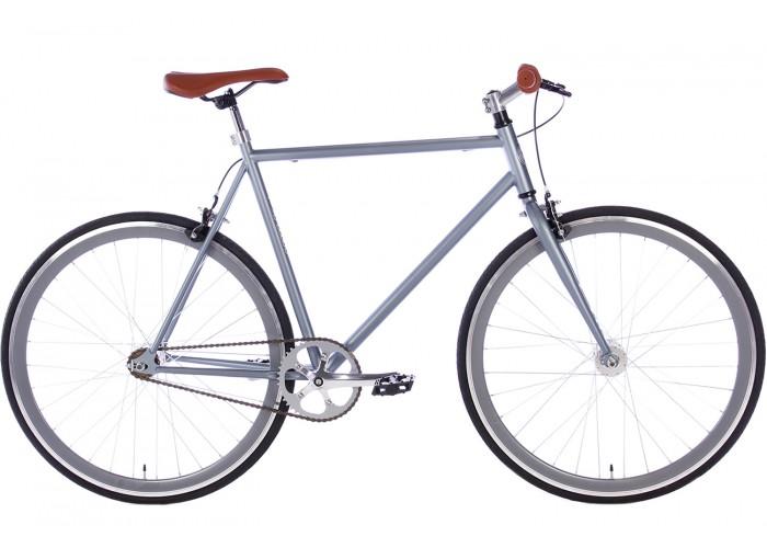Spirit Fixed Gear Bike Mat-Grijs herenfiets