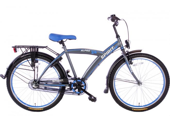 Spirit Alpha N3 Blauw Jongensfiets 24 inch