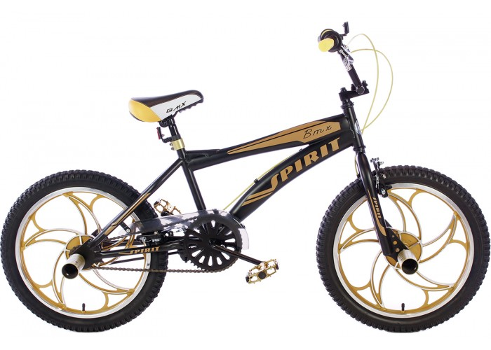 Spirit BMX Crossfiets Cheetah Goud 20 inch