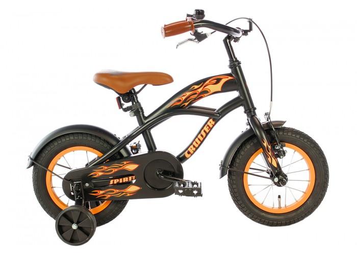 Spirit Cruiser Jongensfiets Oranje 12 Inch