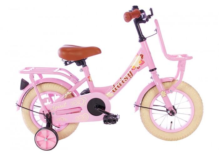 Spirit Daisy Meisjesfiets Roze 12 inch
