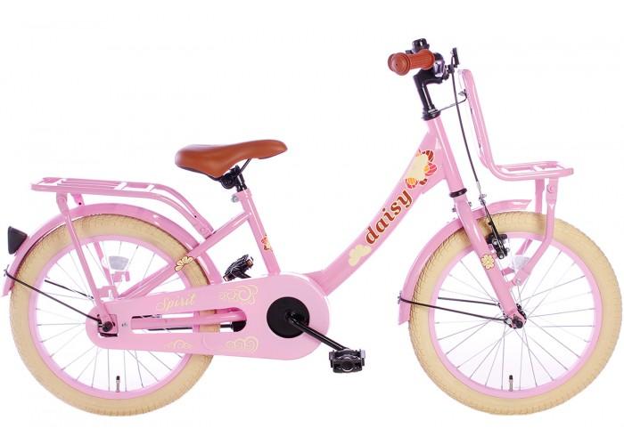 Spirit Daisy Meisjesfiets Roze 18 inch