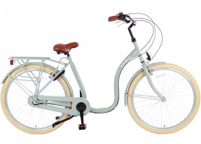 Spirit Easy N3 Groen Lage instap fiets