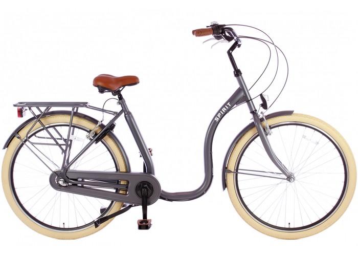 Spirit Easy N3 Grijs Lage instap fiets