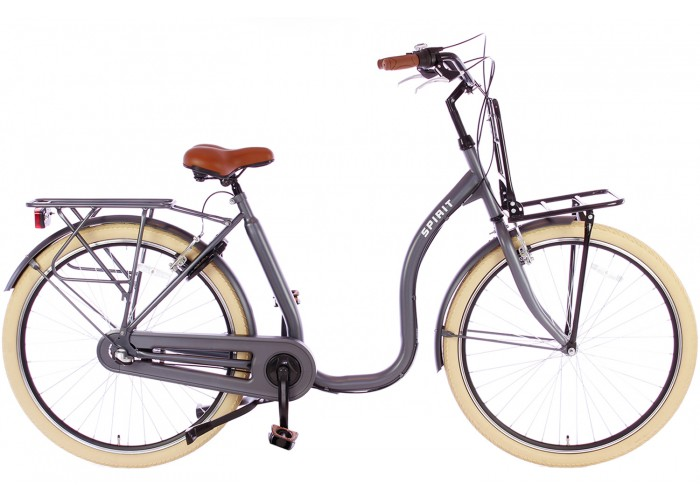 Spirit Easy Plus N3 Grijs Lage instap fiets