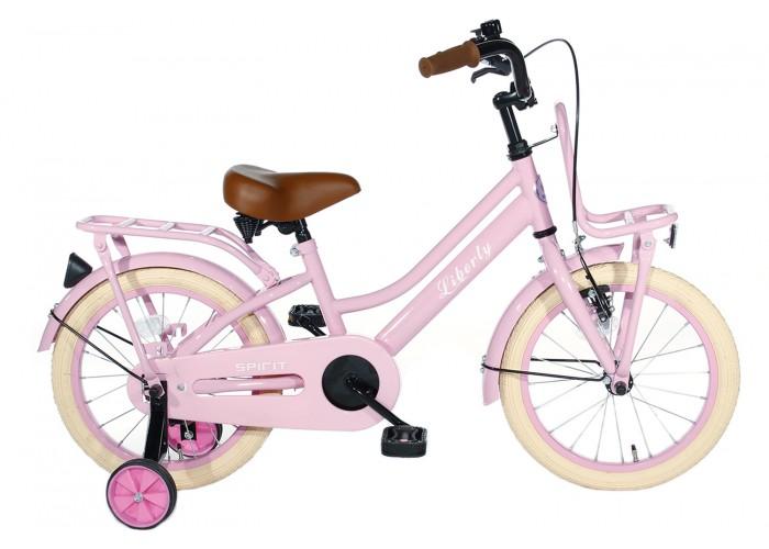Spirit Liberty Meisjesfiets Roze 12 inch