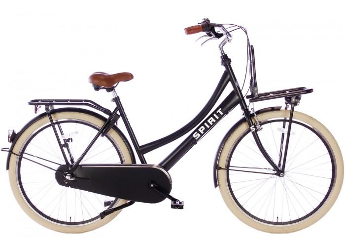 Spirit Mona N3 Transport Moederfiets Mat-Zwart