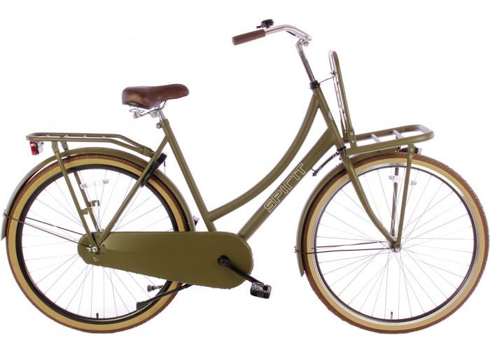 Spirit Transportfiets Mat-Groen 28 inch