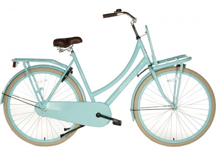 Spirit Transportfiets Turquoise 28 inch