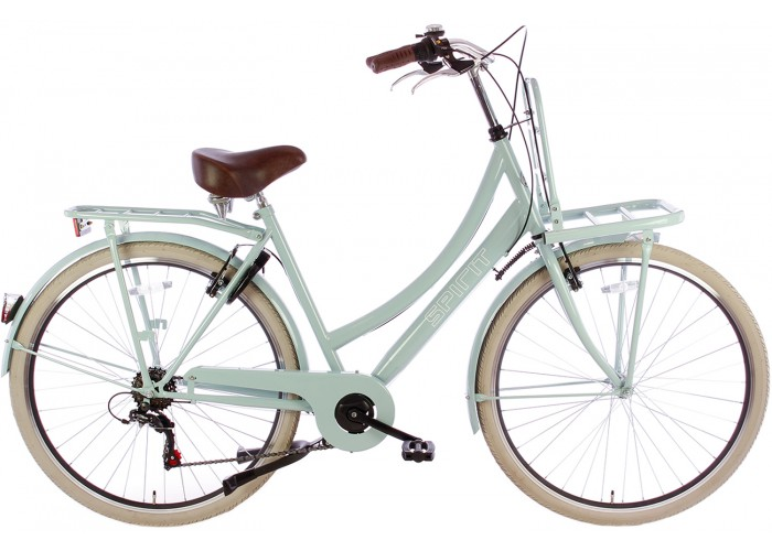 Spirit Transportfiets 6-Speed Groen 28 inch