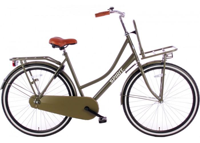 Spirit Omafiets 28 inch Plus Mat-Groen