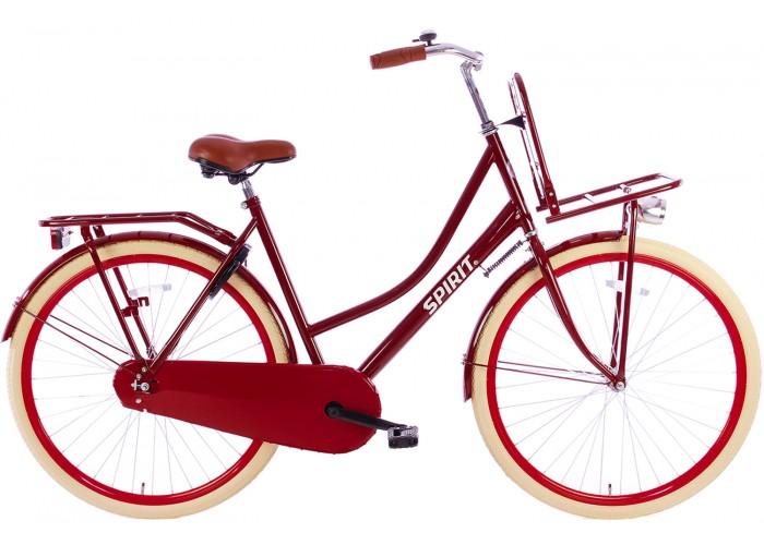 Spirit Omafiets 28 inch Plus Rood